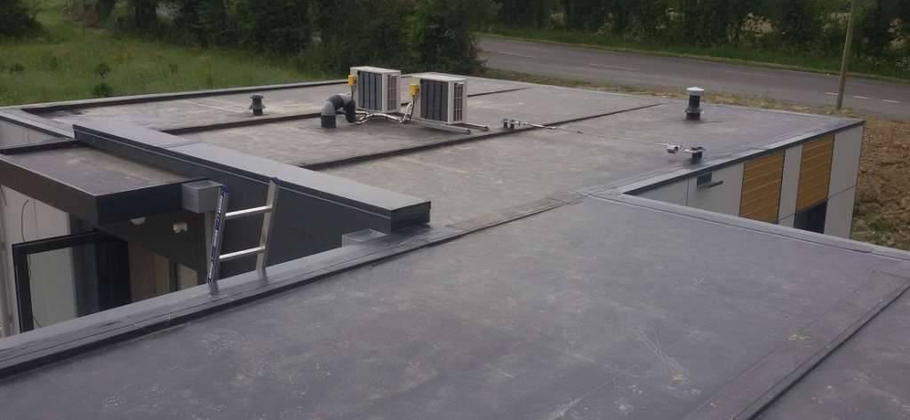 конструкции плоских крыш чертежи фото читает